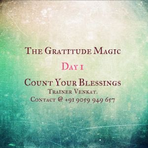 What is Gratitude Magic Course?