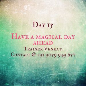 Day 15 - Have a Magical Day