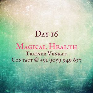 Day 16 - Magic and Miracles in Health