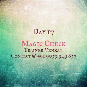 Day 17 - The Magic Check