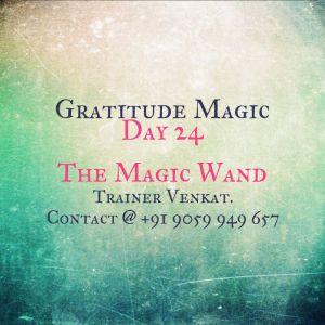 Day 24 - Magic Wand